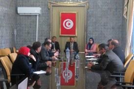 الاستعداد لتنظيم الانتخابات البلدية الجزئية بولاية منوبة.