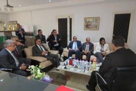 والية منوبة تواصل سلسلة زياراتها لمختلف المؤسسات الاقتصادية بالجهة.